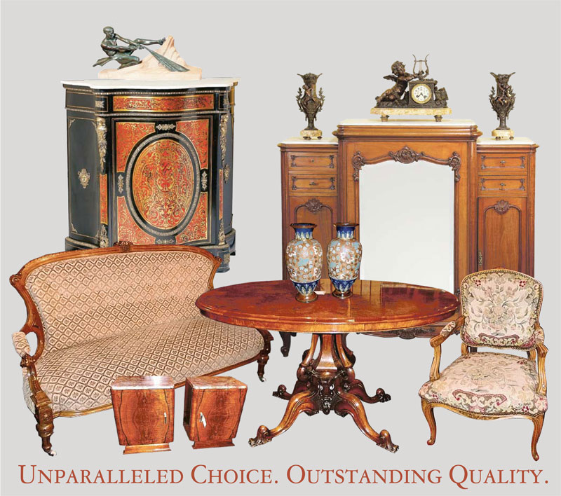 Established in 1982, Louis' Antiques is Perth's largest importer of antique  furniture and collectables from the UK and Europe - Louis' Antiques Incorporating The Perth Antique Centre Importers